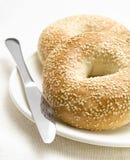 Arrangement de petit déjeuner Photos libres de droits