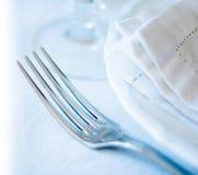 Arrangement de table de salle à manger Photographie stock