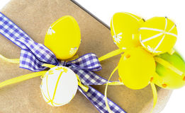 Arrangement of Easter Gifts Stock Image