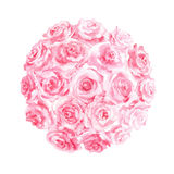 Arrangement floral d'aquarelle Photo libre de droits