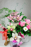 Arrangement of flowers Royalty Free Stock Images