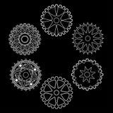 Arrangement of gears. Industrial still life - arrangement of gears Royalty Free Stock Photo