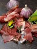 Arrangement of Jamon Stock Images