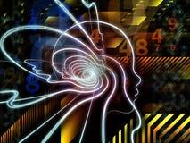 Advance of Human Technology Stock Image