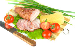 Arrangement with meat Royalty Free Stock Photo