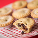 Arrangement of Mince pies Stock Photography