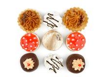 Arrangement Of Cakes Stock Images