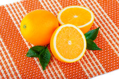 Arrangement of orange Royalty Free Stock Image