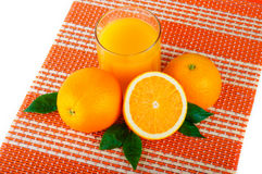 Arrangement of orange Royalty Free Stock Photos