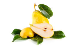 Arrangement of pears Stock Photography