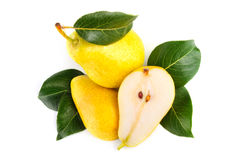 Arrangement of pears Royalty Free Stock Photo