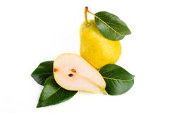 Arrangement of pears Royalty Free Stock Photos