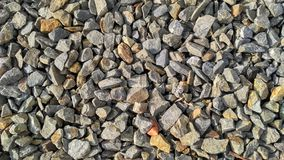 Arrangement of the rock field stock images