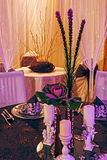Arranjament for a romantic dinner -7 Royalty Free Stock Images