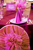 Arrangement for the wedding dinner party-12 Royalty Free Stock Photography