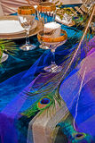 Arrangement for the wedding dinner party-13 Stock Photos