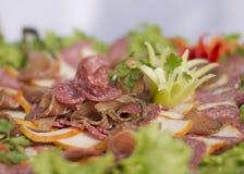 Arrangemet de la comida Imagen de archivo