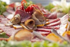 Arrangemet de la comida Fotos de archivo