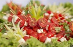 Arrangemet de nourriture Photographie stock