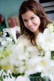 arranging flower Στοκ φωτογραφία με δικαίωμα ελεύθερης χρήσης