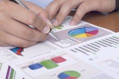 Arranging paperwork Stock Photos