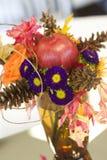 Arrangment λουλουδιών πτώσης Στοκ εικόνα με δικαίωμα ελεύθερης χρήσης