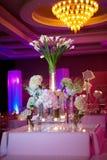 Arrangment floral décoratif image stock