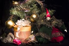 Arrangment van Kerstmis Stock Afbeelding