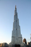 Arranha-céus Burj Dubai fotos de stock royalty free