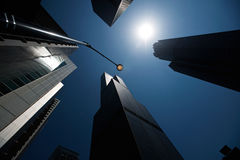 Arranha-céus, Chicago, laço, arquitetura, torres Imagens de Stock