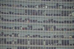 Arranha-céus comercial do Walkietalkie da rua de 20 Fenchurch na cidade de Londres foto de stock