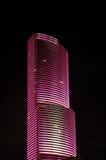 Arranha-céus cor-de-rosa em Miami fotos de stock