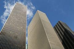 Arranha-céus da 6a avenida ou da avenida dos Americas em Manhattan Fotografia de Stock Royalty Free