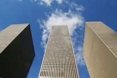 Arranha-céus da 6a avenida ou da avenida dos Americas em Manhattan Imagem de Stock Royalty Free