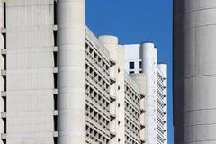Arranha-céus da Bolonha do distrito de Fiera Fotos de Stock