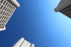 Arranha-céus da Bolonha do distrito de Fiera Imagens de Stock Royalty Free