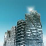 Arranha-céus da cidade ilustração stock