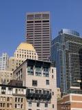 Arranha-céus da cidade Fotos de Stock Royalty Free