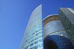 Arranha-céus da cidade do escritório Fotografia de Stock Royalty Free