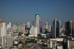 Arranha-céus de Banguecoque foto de stock royalty free