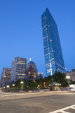 Arranha-céus de Boston na noite Foto de Stock Royalty Free