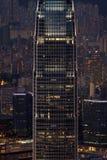 Arranha-céus de Hong Kong foto de stock