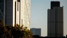 Arranha-céus de Londres; estabelecendo o tiro filme