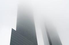 Arranha-céus de manhattan Fotografia de Stock Royalty Free