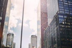 Arranha-céus de Manhattan, NYC, EUA Imagens de Stock