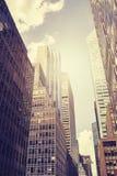 Arranha-céus de Manhattan, NYC, EUA Fotografia de Stock