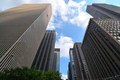 Arranha-céus de New York City Imagens de Stock