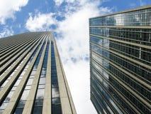 Arranha-céus de New York City Foto de Stock Royalty Free