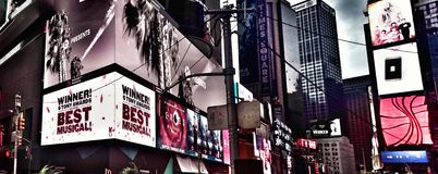 Arranha-céus de NYC Imagem de Stock Royalty Free