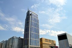 Arranha-céus de Rotterdam Fotografia de Stock Royalty Free